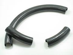 カーボン調ハンドルカバーステアリング type2