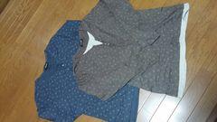 ♪ナチュラル系sale♪新品同様♪Tシャツ2枚セット♪L♪