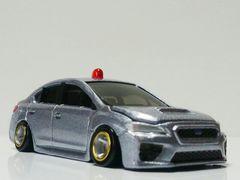 ☆トミカ 改『スバル WRX S4 覆面パトロールカー』ローダウン・ワイドタイヤ交換〓