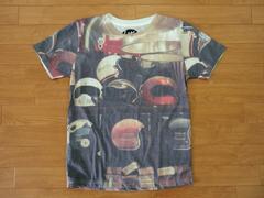 送料180円 ヴィンテージ ヘルメット Tシャツ S