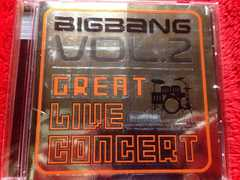 BIG BANG VOL.2 GREAT LIVE CONCERT CD ビッグバン