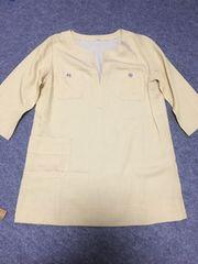 美品  七分袖 カットソー  大きいサイズ