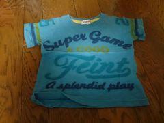 100 ECOPARA ブルー Tシャツ