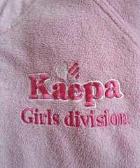 大人もok Kaepa  160サイズ ピンクのフリース長袖ジャンバー