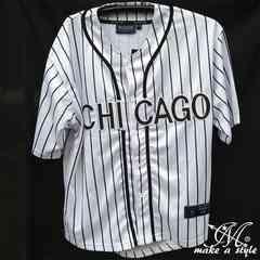 MLBシカゴ ホワイトソックス BBシャツ ベースボールシャツXL 62