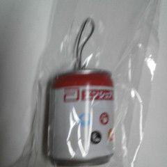 エンシェアH 空き缶型 フワフワ ストラップ 新品 非売品
