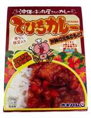沖縄産豚肉使用 てびちカレー 180g C10-5