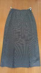黒ドット 女らしいロングスカート 美品 ブランド