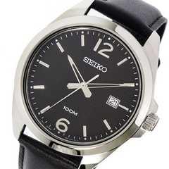 送料無料!セイコー  クオーツ メンズ 腕時計 SUR215P1