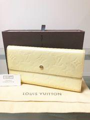 1円 ◆正規品◆ 良品 ◆ ルイヴィトン ヴェルニ 長財布 ^ ^