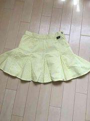 ジェニーラブのチェク柄スカート