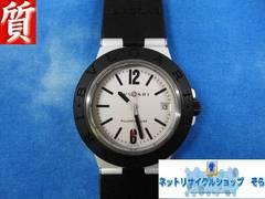 質屋★本物 ブルガリ 腕時計 アルミニウム AL38TA メンズ 美品