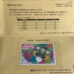東京ディズニーリゾートパスポート(1枚)