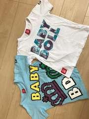 ベビードール半袖Tシャツ120センチ2枚セット