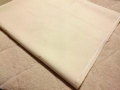 新品★アイボリーホワイト白★無地★大判はぎれ布★156×142★インテリアにも