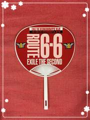 EXILE THE SECONDO☆ミニミニうちわ赤