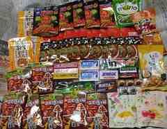 訳あり格安出品 お菓子詰め合わせ50点 スナック菓子/ガム/飴
