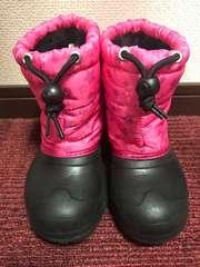 イグニオ スノーブーツ 18.0  ブラック、ピンク  超美品♪♪