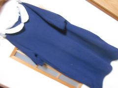 グローバルワーク*半袖紺ワンピースS*秋に★クリックポスト164円