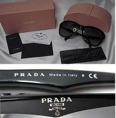 PRADA サングラス ブラックグラデーション SPR24N-A 1AB-3M1 本物 新品