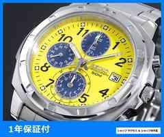 新品 即買い■セイコー クロノグラフ 腕時計 SND409P1★人気