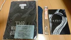 GLAY TAKURO グッズ色々、Tシャツ、扇子新品。
