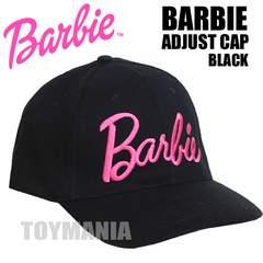 新品 ブランド バービー ロゴ コットン キャップ レディース 女性 黒 ブラック