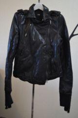 LGBルグランブルー レザーライダースジャケット