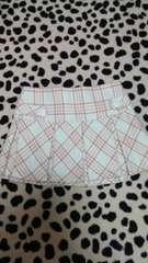リズリサ☆美品☆ピンク×白チェック柄ミニスカート