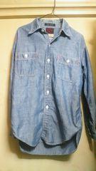 TAKE5 シャンブレーシャツ