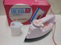 6417★1スタ★HITACHI/日立 スチームアイロン コード付き IS-S15