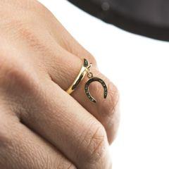 馬蹄(ホース) 輪リング11号-17号/指輪
