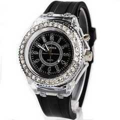 今回限り650円★クロノグラフタイプの腕時計 黒 動作保証付き