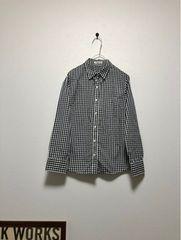ベルメゾンDAYSノーアイロンギンガムチェックのシャツ