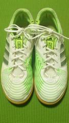 ¶adidas[アディダス]★SUPERSALAフットサルシューズ・スニーカー24.5cm/送\285~