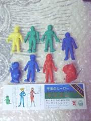 希少【バンダイ】宇宙のヒーロー『キャプテンフューチャー』消しゴム全8種コンプセット