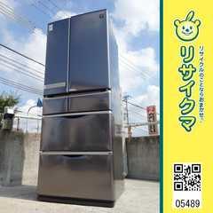 RK489▼シャープ 冷蔵庫 515L 2010年 6ドア 観音開き SJ-ZF52S