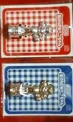 ☆ペコちゃん☆2006☆金、銀のNEWペコちゃん☆2点セット☆