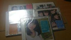 CD 乃木坂46 裸足でSummer 初回盤ABCD+通常盤 5枚
