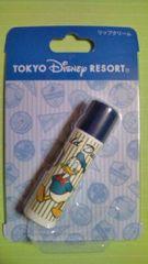 新品未開封『リップクリーム』ドナルドダック柄。東京ディズニーリゾート。