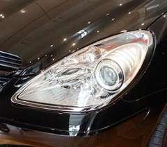 ベンツ メッキヘッドライトリング R171