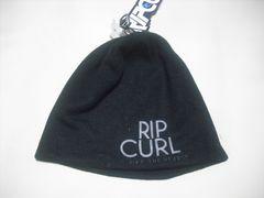 rc99 男 RIP CURL リップカール ニット帽 ビーニー 黒