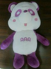 AAA え〜パンダ スペシャルBIGぬいぐるみ 紫 サイズ約45�p 宇野 実彩子
