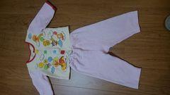 アンパンマンパジャマ*上下セット*冬用*size80�p〜