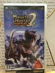 モンスターハンター ポータブル セカンド PSP 美品