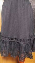 【axes femme】ペチスカート 黒