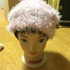 ☆ベビーピンク ニット帽☆