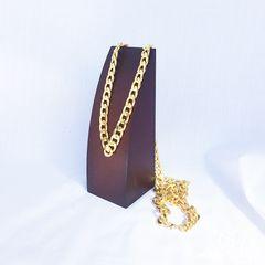 キューバン GOLD ゴールド 金 ロングチェーン ネックレス 456