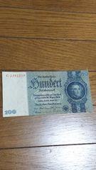 ドイツ100マルク紙幣 1935