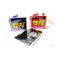 CDでお手元に!ベスト/BEST EXILE BEST HITS -初回DVD3枚付
